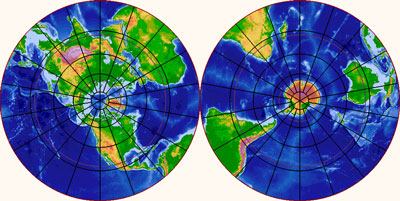 Earth Polar Images